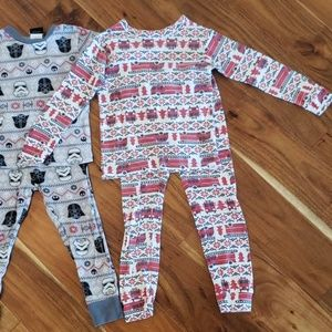 GAP Pajamas - GAP Boys 4T Christmas Pajama Lot